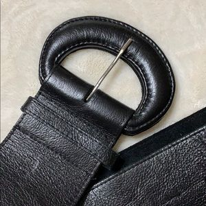 Accessories - Black Leather belt